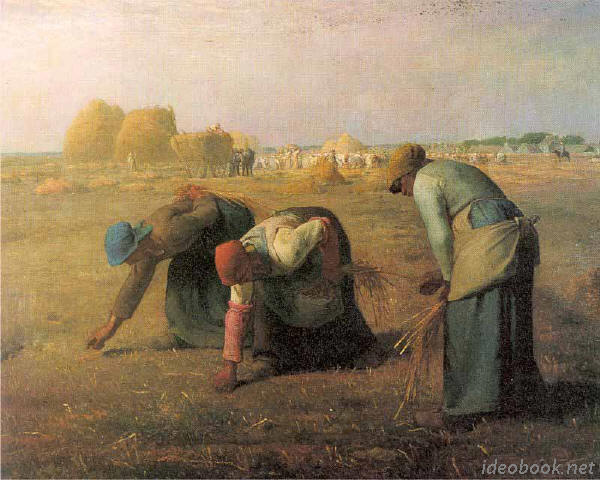 Jean-François Millet, The Gleaners (1857)