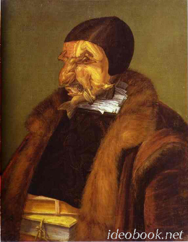 Giuseppe Arcimboldo. The Lawyer